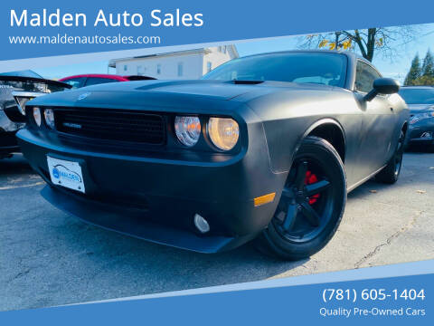 2010 Dodge Challenger for sale at Malden Auto Sales in Malden MA