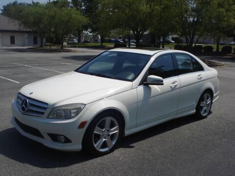 2010 Mercedes-Benz C-Class for sale at Uniworld Auto Sales LLC. in Greensboro NC