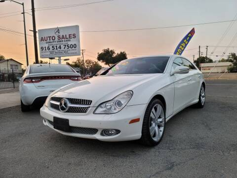 2009 Mercedes-Benz CLS for sale at A1 Auto Sales in Sacramento CA