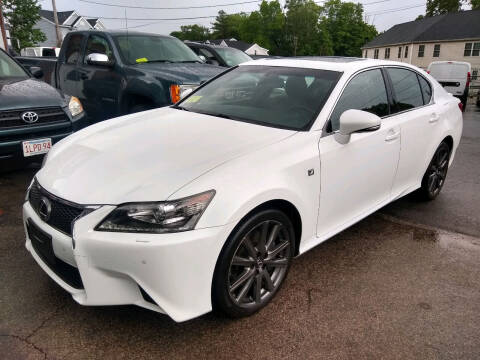 2014 Lexus GS 350 for sale at Washington Street Auto Sales in Canton MA