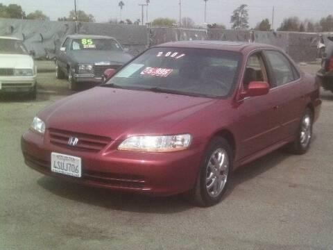 2001 Honda Accord for sale at Valley Auto Sales & Advanced Equipment in Stockton CA