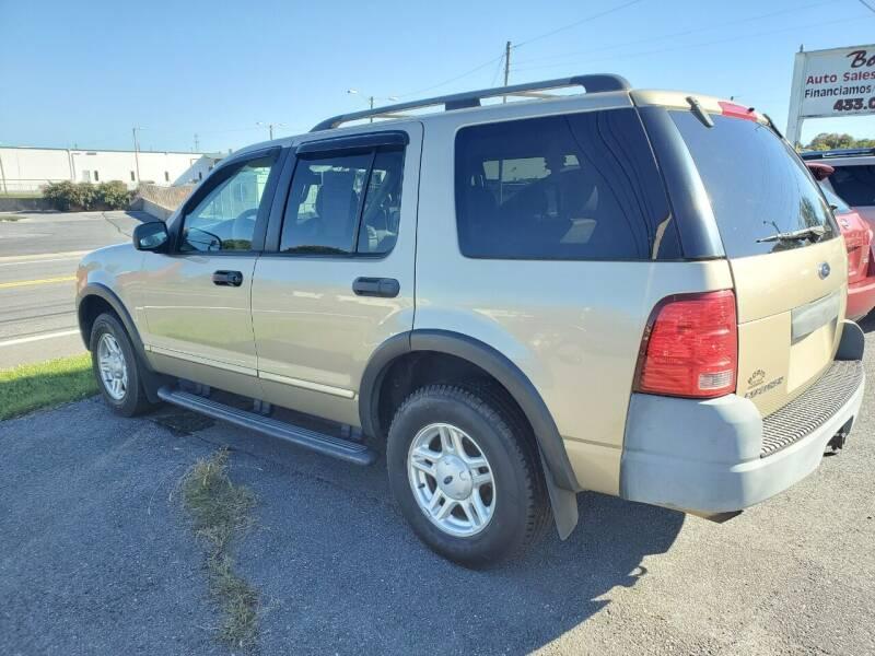 2003 Ford Explorer for sale at Boris Auto Sales & Repairs in Harrisonburg VA