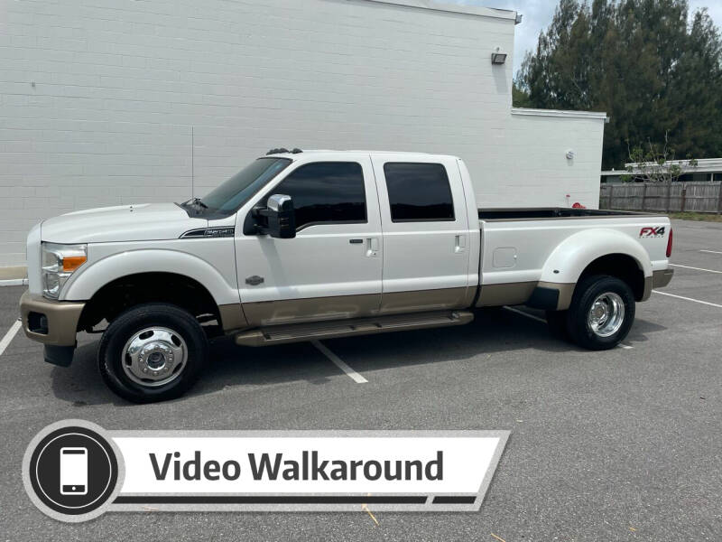 2013 Ford F-350 Super Duty for sale at GREENWISE MOTORS in Melbourne FL