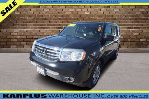2013 Honda Pilot for sale at Karplus Warehouse in Pacoima CA