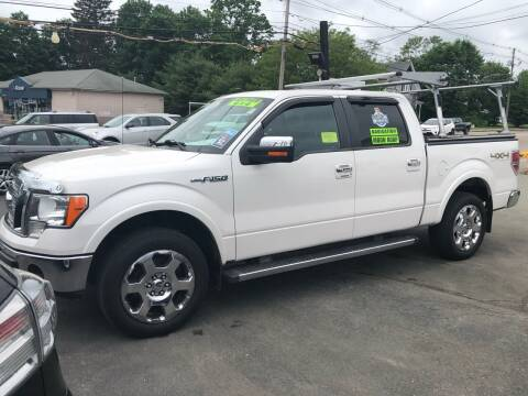 2011 Ford F-150 for sale at Crown Auto Sales in Abington MA