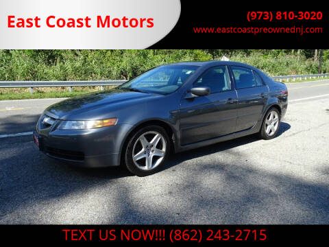 2004 Acura TL for sale at East Coast Motors in Lake Hopatcong NJ