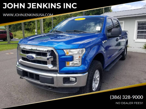 2015 Ford F-150 for sale at JOHN JENKINS INC in Palatka FL