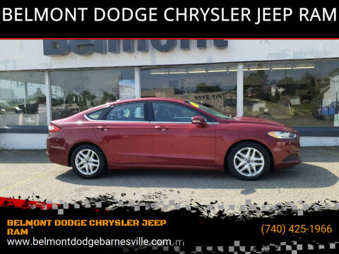 2016 Ford Fusion for sale at BELMONT DODGE CHRYSLER JEEP RAM in Barnesville OH