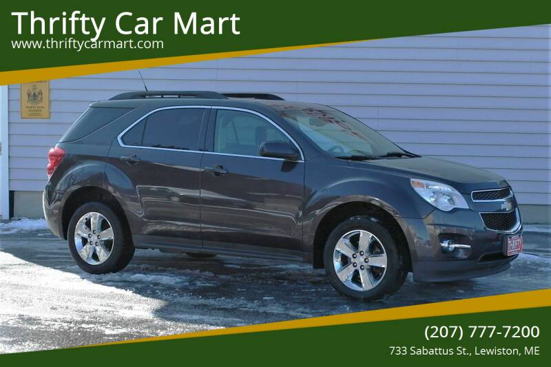 2013 Chevrolet Equinox for sale at Thrifty Car Mart in Lewiston ME