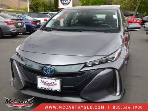 2017 Toyota Prius Prime for sale at McCarthy Wholesale in San Luis Obispo CA