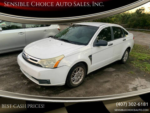 2008 Ford Focus for sale at Sensible Choice Auto Sales, Inc. in Longwood FL