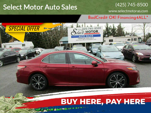 2018 Toyota Camry for sale at Select Motor Auto Sales in Lynnwood WA