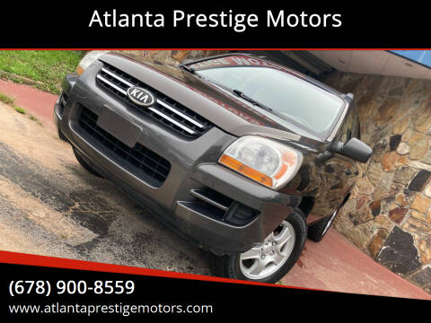 2006 Kia Sportage for sale at Atlanta Prestige Motors in Decatur GA