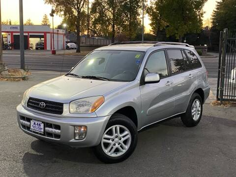 2002 Toyota RAV4 for sale at KAS Auto Sales in Sacramento CA