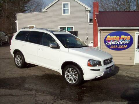 2013 Volvo XC90 for sale at Auto Pro Auto Sales-797 Sabattus St. in Lewiston ME
