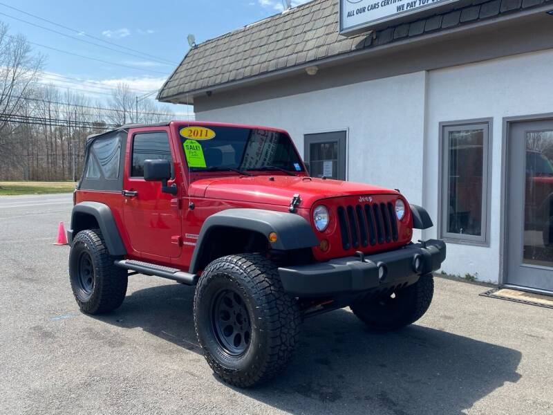 2011 Jeep Wrangler for sale at Vantage Auto Group in Tinton Falls NJ