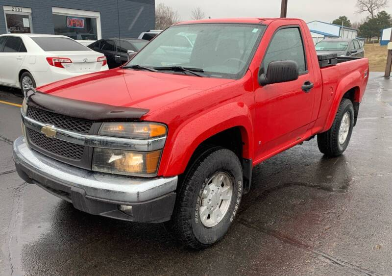 2006 Chevrolet Colorado for sale at Eagle Auto LLC in Green Bay WI