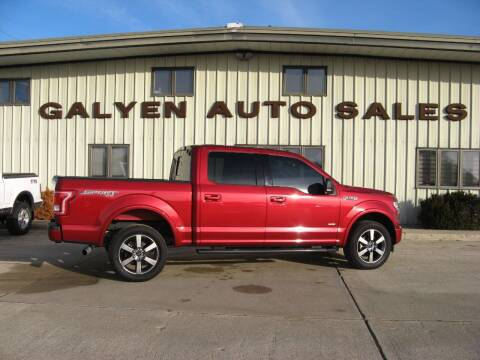 2017 Ford F-150 for sale at Galyen Auto Sales Inc. in Atkinson NE