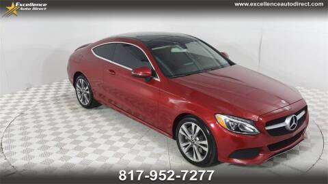 2017 Mercedes-Benz C-Class for sale at Excellence Auto Direct in Euless TX