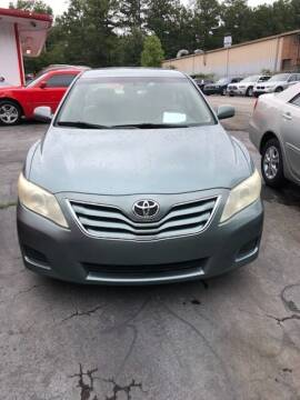 2010 Toyota Camry for sale at LAKE CITY AUTO SALES in Forest Park GA