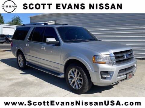 2017 Ford Expedition EL for sale at Scott Evans Nissan in Carrollton GA