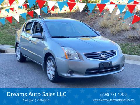 2012 Nissan Sentra for sale at Dreams Auto Sales LLC in Leesburg VA