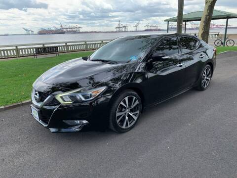 2016 Nissan Maxima for sale at Crazy Cars Auto Sale in Jersey City NJ
