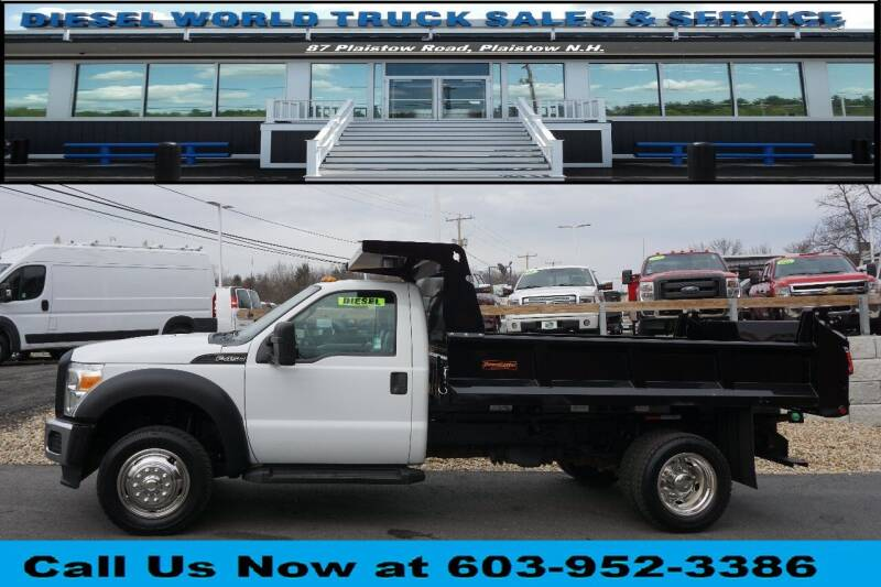 2011 Ford F-450 Super Duty for sale at Diesel World Truck Sales in Plaistow NH