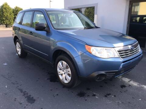 2009 Subaru Forester for sale at Third Avenue Motors Inc. in Carmel IN