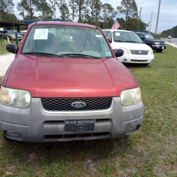 2001 Ford Escape for sale at MOTOR VEHICLE MARKETING INC in Hollister FL