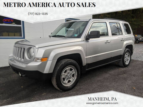 2011 Jeep Patriot for sale at METRO AMERICA AUTO SALES of Manheim in Manheim PA