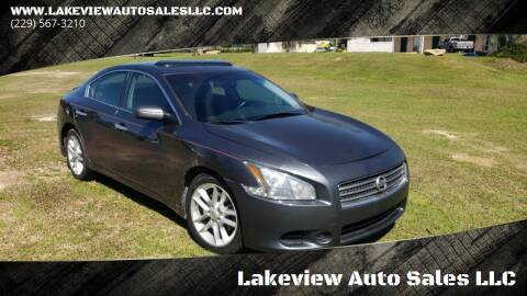 2010 Nissan Maxima for sale at Lakeview Auto Sales LLC in Sycamore GA