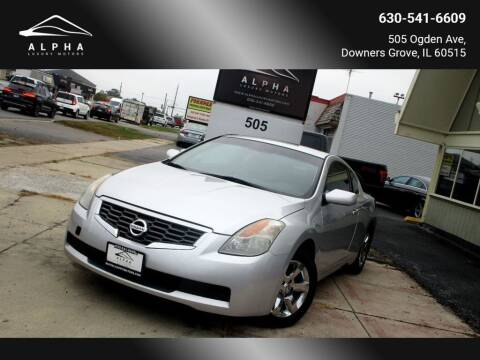 2009 Nissan Altima for sale at Alpha Luxury Motors in Downers Grove IL