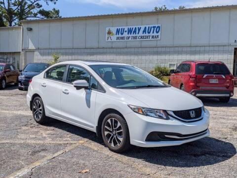 2014 Honda Civic for sale at Nu-Way Auto Ocean Springs in Ocean Springs MS
