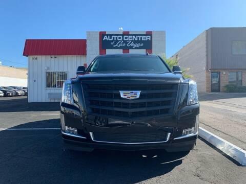2015 Cadillac Escalade for sale at Auto Center Of Las Vegas in Las Vegas NV
