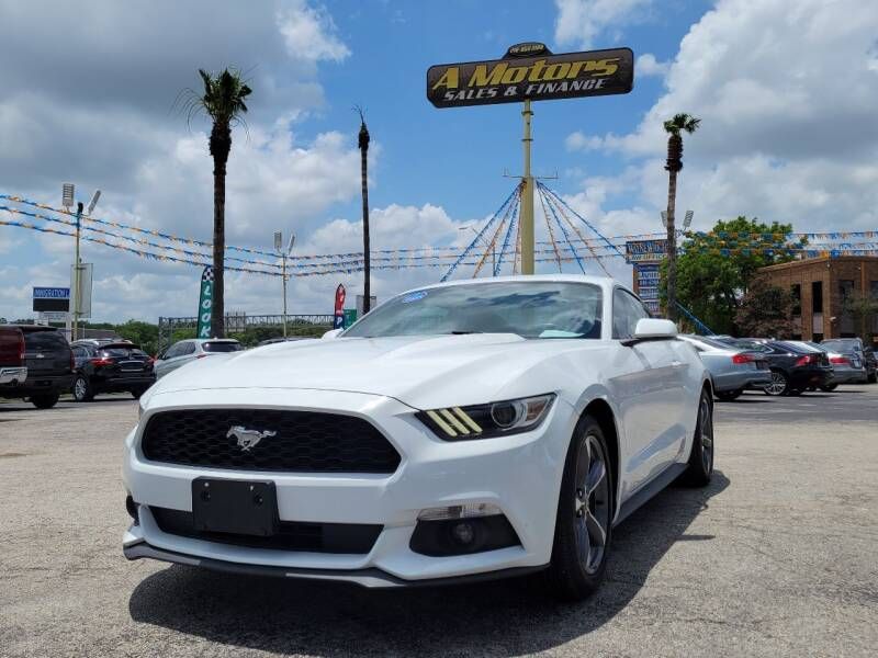 2015 Ford Mustang for sale at A MOTORS SALES AND FINANCE in San Antonio TX