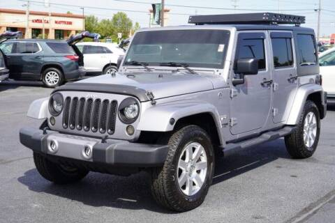 2018 Jeep Wrangler JK Unlimited for sale at Preferred Auto Fort Wayne in Fort Wayne IN