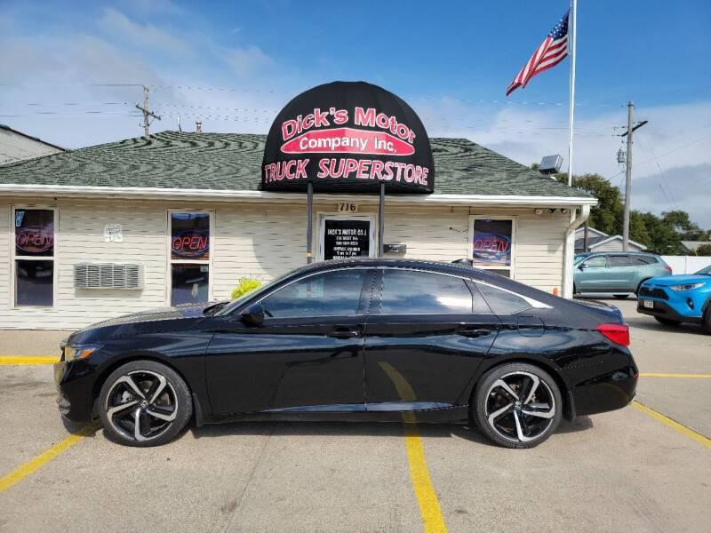 2018 Honda Accord for sale at DICK'S MOTOR CO INC in Grand Island NE