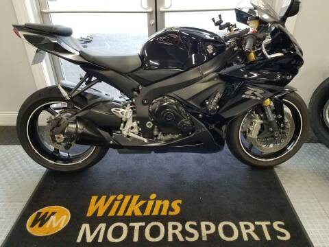2013 Suzuki GSX-R750 for sale at WILKINS MOTORSPORTS in Brewster NY