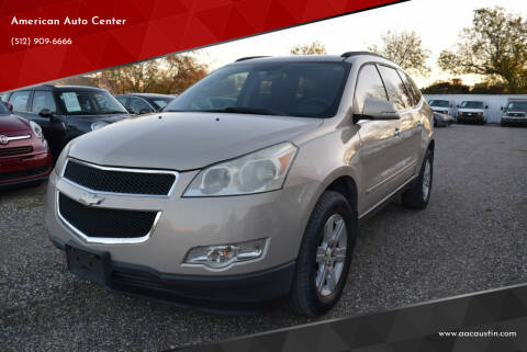 2010 Chevrolet Traverse for sale at American Auto Center in Austin TX