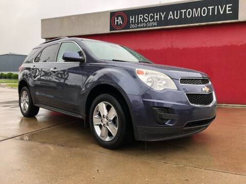 2013 Chevrolet Equinox for sale at Hirschy Automotive in Fort Wayne IN