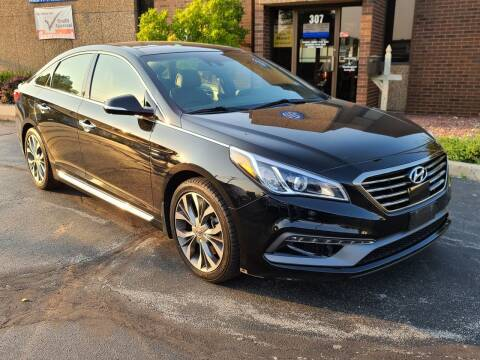 2015 Hyundai Sonata for sale at Mighty Motors in Adrian MI