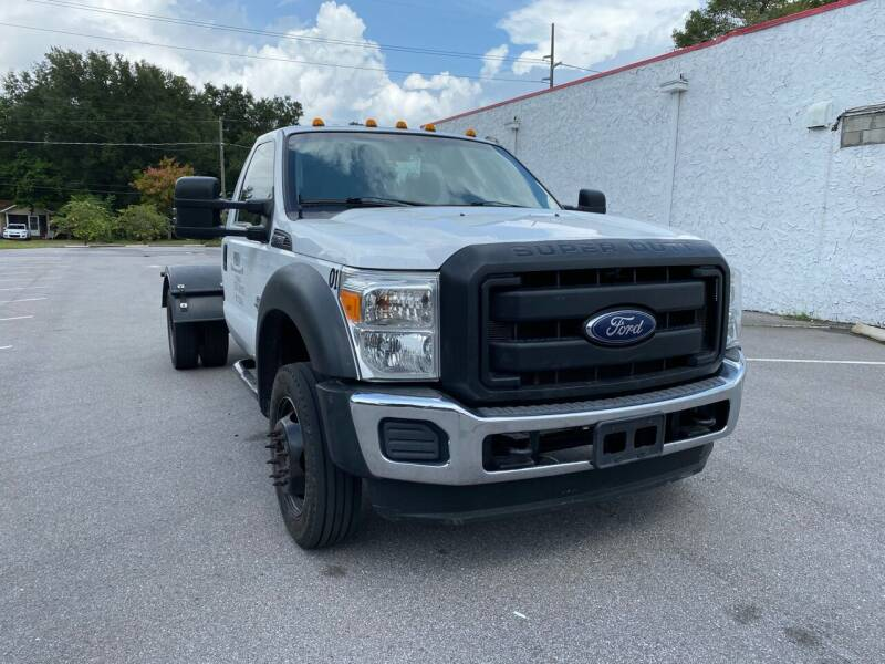 2014 Ford F-450 Super Duty for sale at LUXURY AUTO MALL in Tampa FL