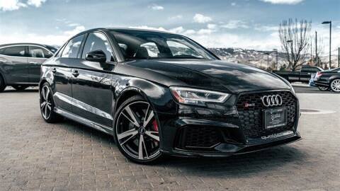 2019 Audi RS 3 for sale at MUSCLE MOTORS AUTO SALES INC in Reno NV