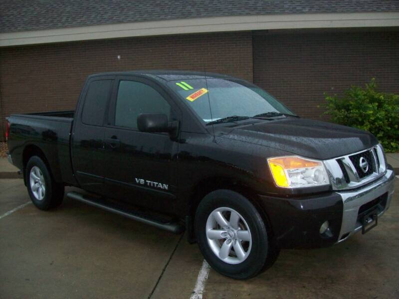 2011 Nissan Titan for sale at Cliff Bland & Sons Used Cars in El Dorado Springs MO