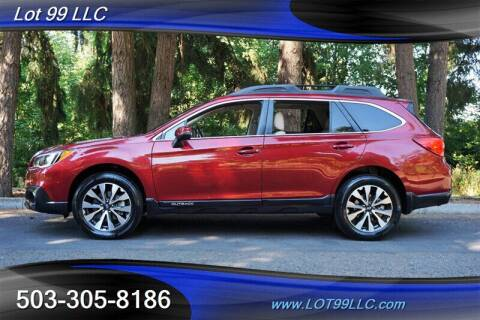 2015 Subaru Outback for sale at LOT 99 LLC in Milwaukie OR
