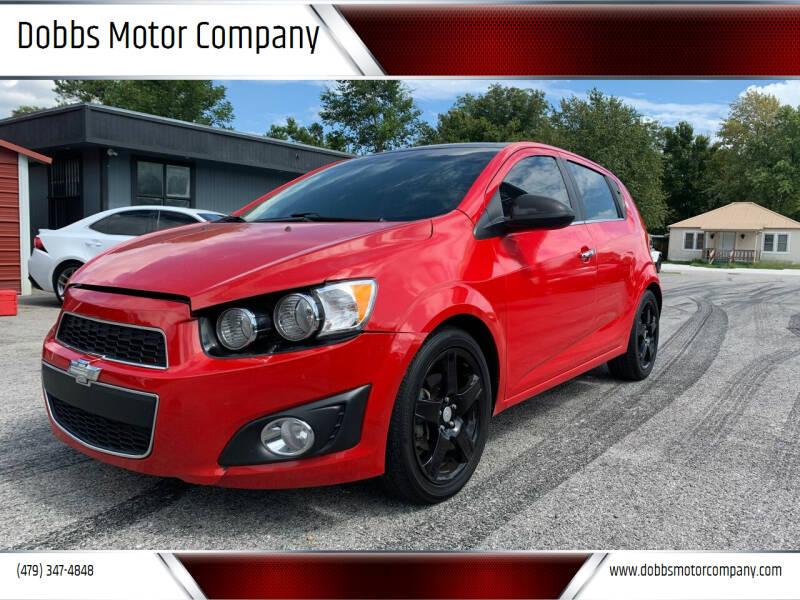 2015 Chevrolet Sonic for sale at Dobbs Motor Company in Springdale AR