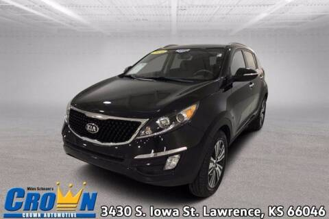 2014 Kia Sportage for sale at Crown Automotive of Lawrence Kansas in Lawrence KS