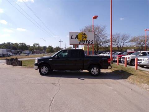2008 Ford F-150 for sale at L A AUTOS in Omaha NE