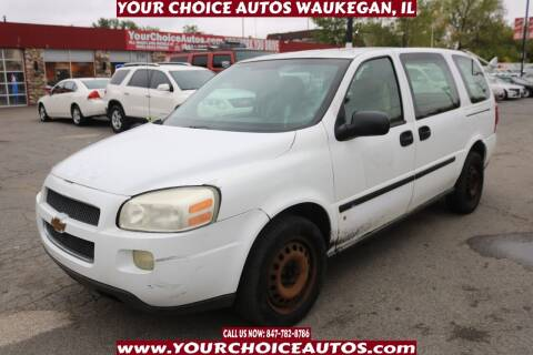 2008 Chevrolet Uplander for sale at Your Choice Autos - Waukegan in Waukegan IL